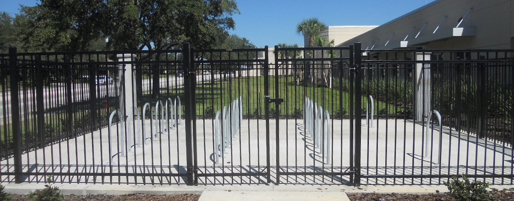 Gated Ornamental Fences Available Central FL