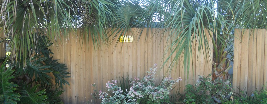 Privacy Wood Fence Installation in Central Florida